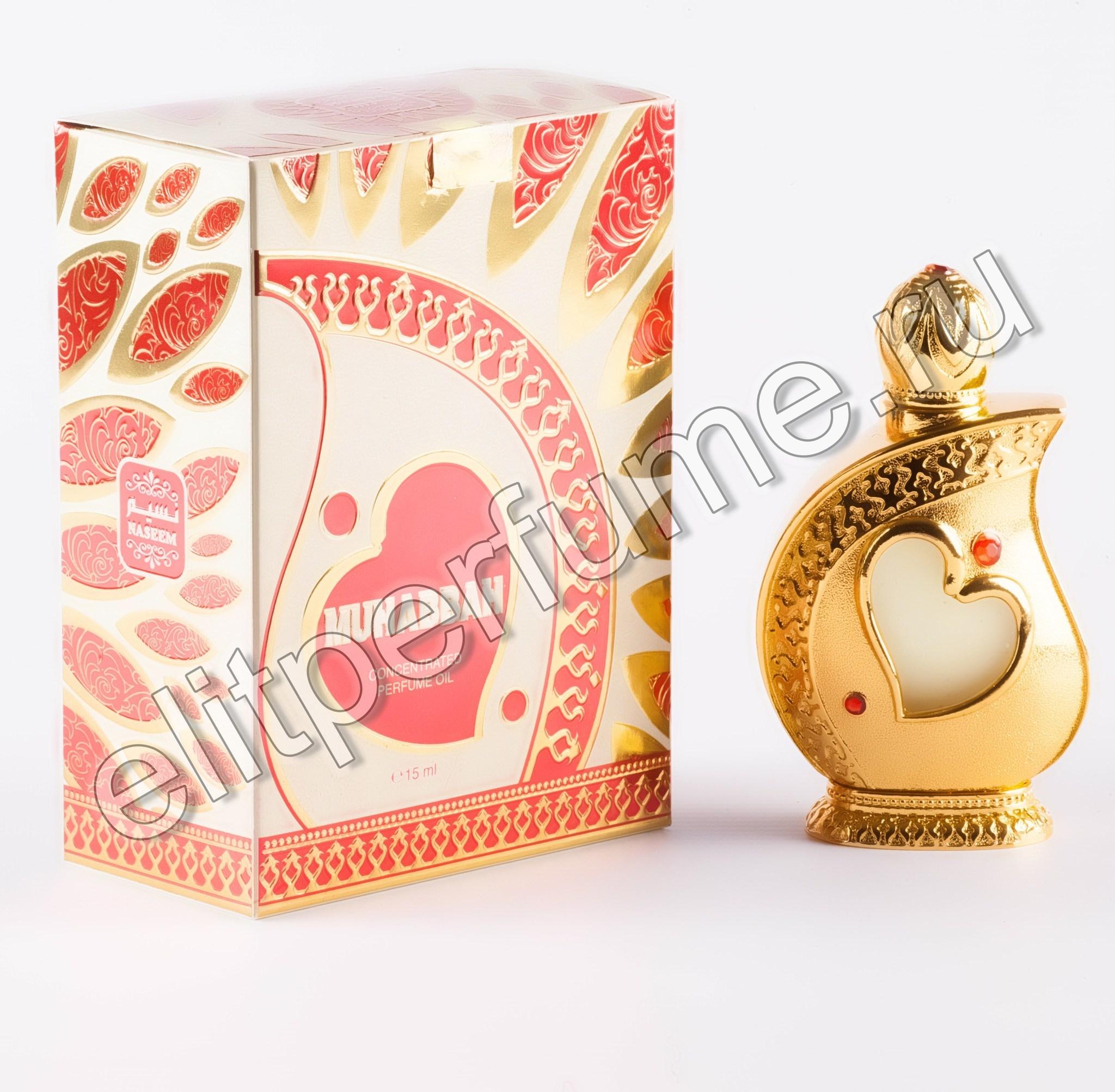 Пробник для Muhabbah Мухабах 1 мл арабские масляные духи от Насим Naseem Perfumes