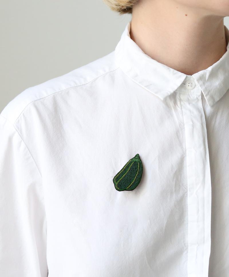 Брошь Green Pepper