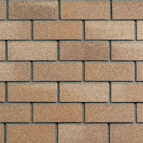 Фасадная плитка Технониколь Hauberk песчаный кирпич 1000х250 мм