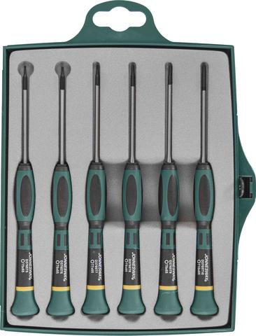 D3765T06S Набор отверток для точной механики TORX®, 65 мм, 6 предметов