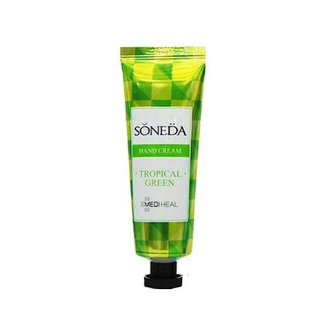 Увлажняющий Крем Для Рук С Тропическим Ароматом MEDIHEAL Soneda Hand Cream Tropical Green