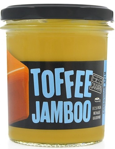 Сливочный крем Toffee Jamboo со вкусом карамели б/сахара 290г