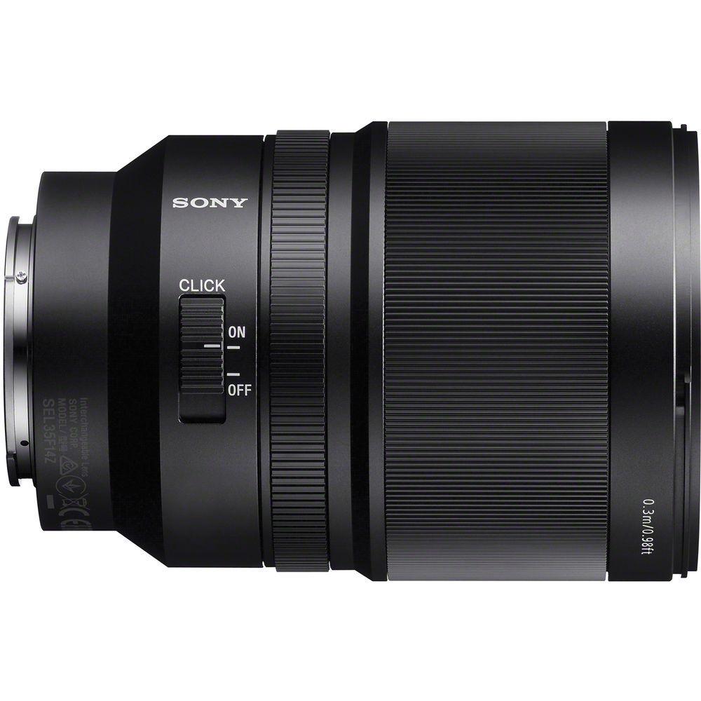 Объектив Zeiss Distagon SEL-35F14Z купить в интернет-магазине Sony Centre
