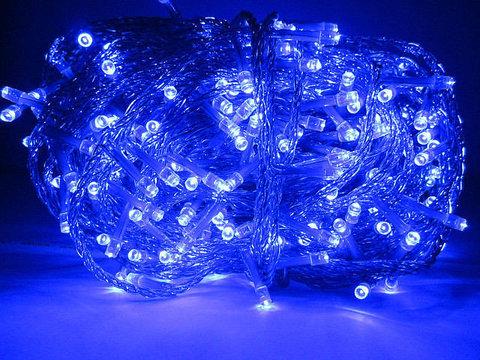 Уличная гирлянда нить на силиконовом проводе 30 метров 300 LED светодиодов