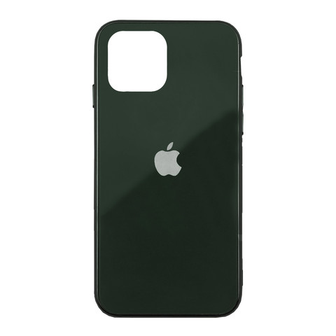 Чехол iPhone 11 Glass Case Logo /green/