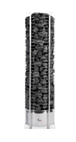 Электрическая печь SAWO TOWER TH3-35NI2-P (3,5 кВт, выносной пульт, встроенный блок мощности, нержавейка)