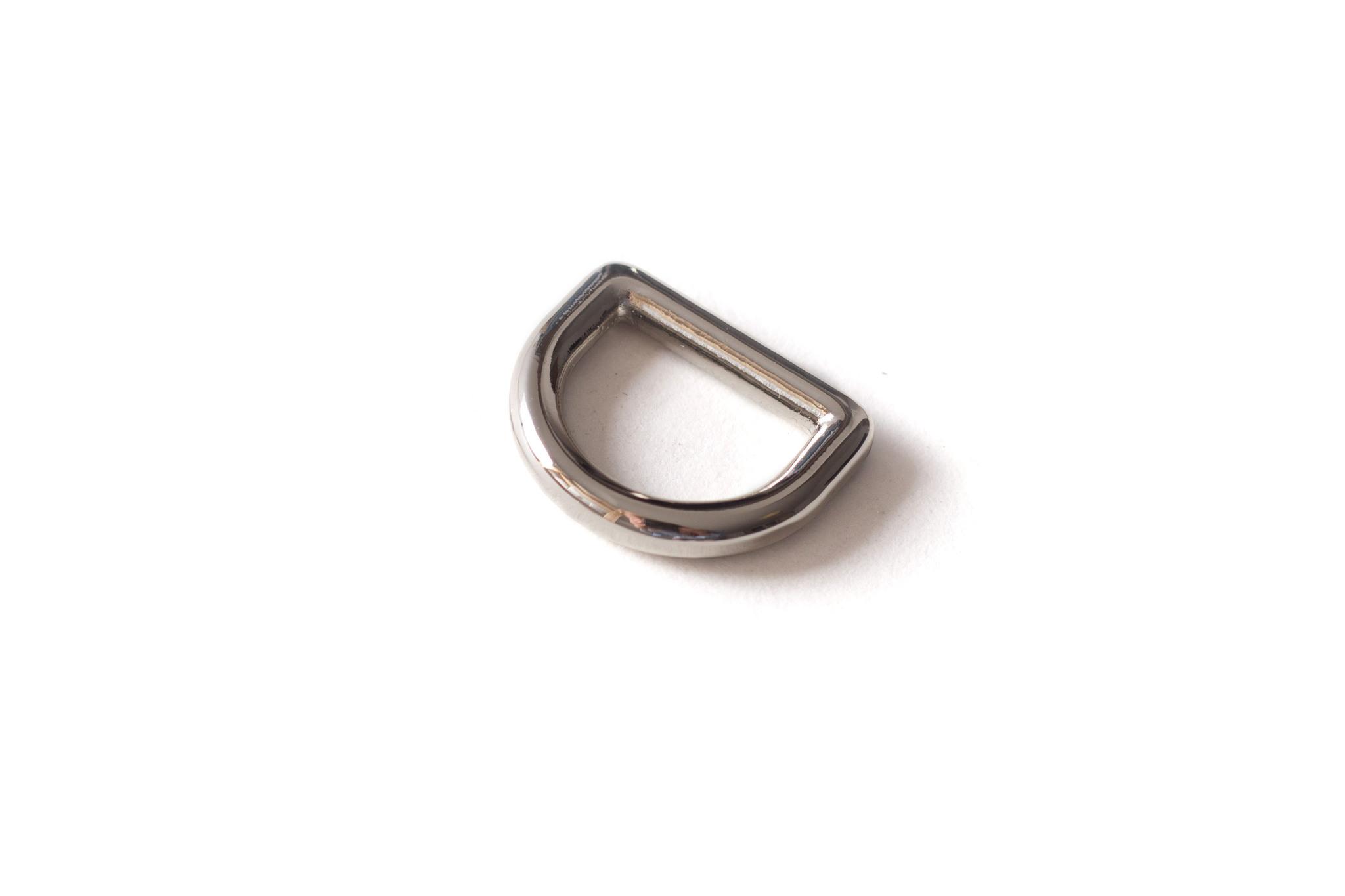 Полукольцо 12,5 мм, никель