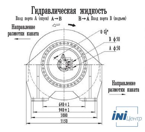 Стандартная лебедка IYJ67-320-214-44-ZP