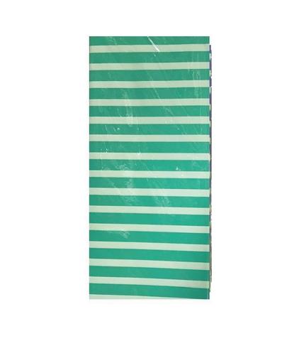 Бумага тишью Полоска, 10 шт., 50x66 см, цвет: бирюзовый