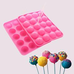 Силиконовая форма для кейк-попсов D=4см