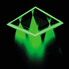 Встраиваемый световой потолочный душ с двумя режимами CHROMOTHERAPY REKLEDNC570