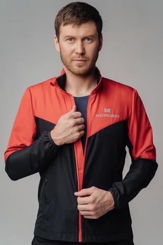 Ветровка Nordski Sport Red/Black мужская