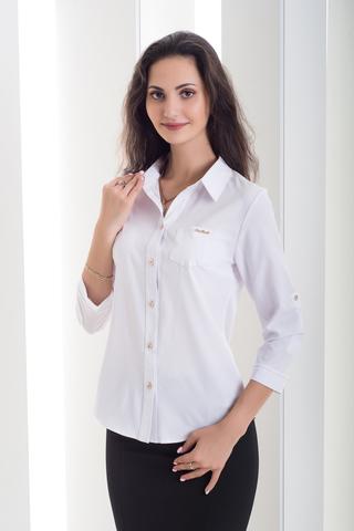 Льоля. Класична сорочка. Біла