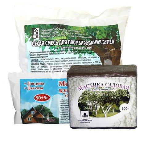 Набор материалов для лечения деревьев Дуплет