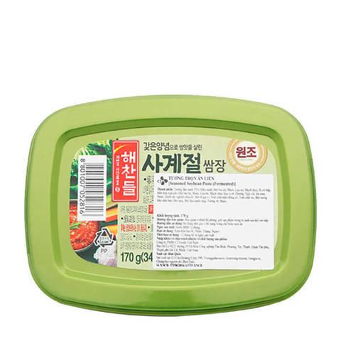 Паста соевая острая Daesang Spicy Ssamjang Seasoned Soybean Paste For Meat 170 гр