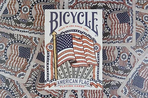 Bicycle American Flag USA
