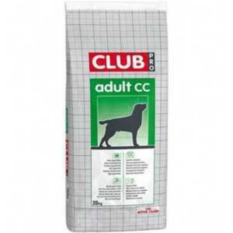 20 кг. ROYAL CANIN Сухой корм для взрослых умеренно активных собак Club PRO CC