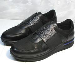 Кроссовки для повседневной жизни мужские Luciano Bellini 1087 All Black