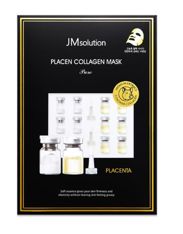JMsolution Placen Collagen Mask Pure плацентарная тканевая маска с коллагеном
