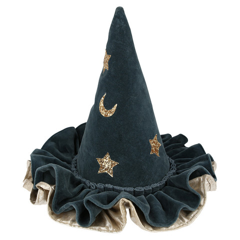 Шляпа колдуньи, синяя