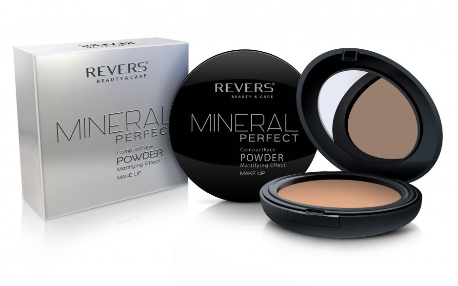 REVERS Пудра 8г MINERAL Perfect №03 (*3)