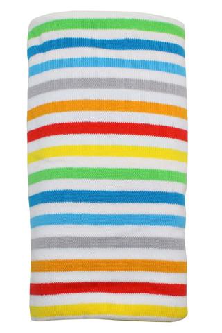 Пеленальное одеяло, орг.хлопок, Happy Stripes