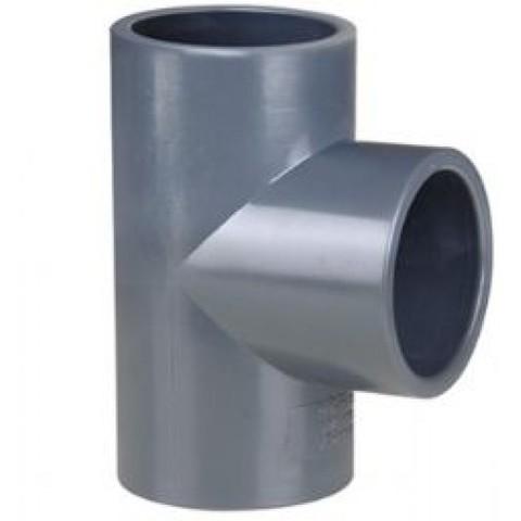 Тройник 90 ПВХ диаметр 280мм 1,0 Mпа Pimtas
