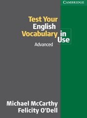 Test Your English Vocabulary in Use: Advanced B...