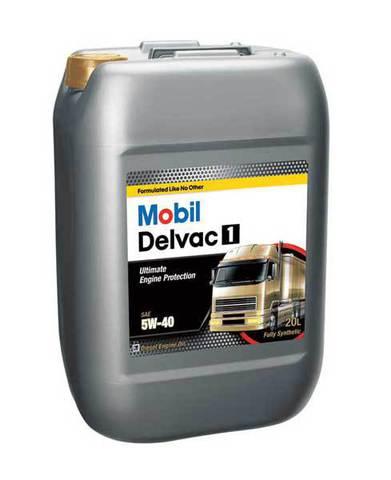 127677 MOBIL DELVAC 1 SHC 5W-40 синтетическое масло для коммерческого транспорта 20 Литров купить на сайте официального дилера Ht-oil.ru