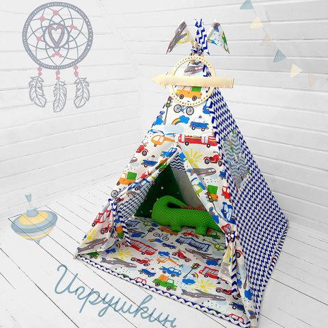 """Палатка ВигВам для детей """"Игрушкин"""""""