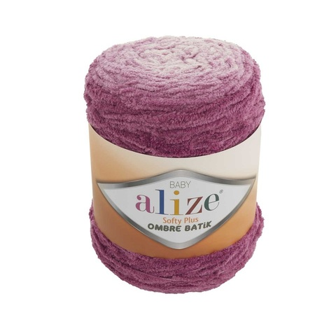 Пряжа Alize Softy Plus Ombre Batik цвет 7426