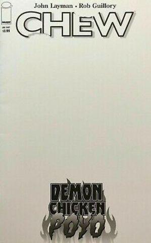 Chew. Demon Chiken Poyo (Blank Cover)