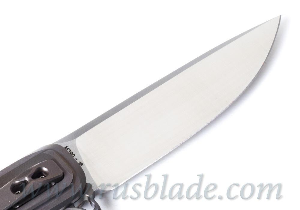 CKF SM-Special knife (Alexey Vorobyov, M390, Ti, CF, zirc) - фотография