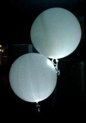 Большой светящийся шар 90 см