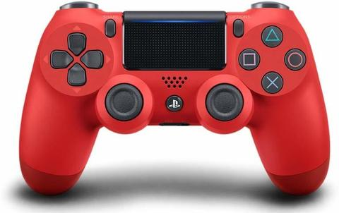 Геймпад Sony Dualshock 4 v2  (Magma Red, Красный) (PS4)