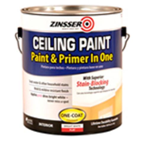 ZINSSER Ceiling Paint краска самогрунтующаяся для потолка