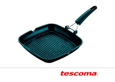 Сковорода-гриль 24х24 см со складной ручкой Tescoma Premium 601250, Чехия, фото