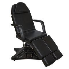 Педикюрное кресло МД-823А, гидравлика цвет черный