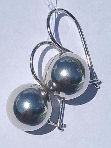Серебряные украшения с шариками