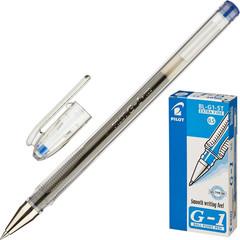 Ручка гелевая Pilot BL-G1-5T синяя (толщина линии 0.3 мм)