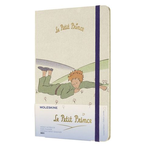 Еженедельник Moleskine LE L'Petit Prince WKNT Large 130х210мм 144стр. белый