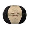 Пряжа Fibranatura Cotton Royal 18-718 (черный)