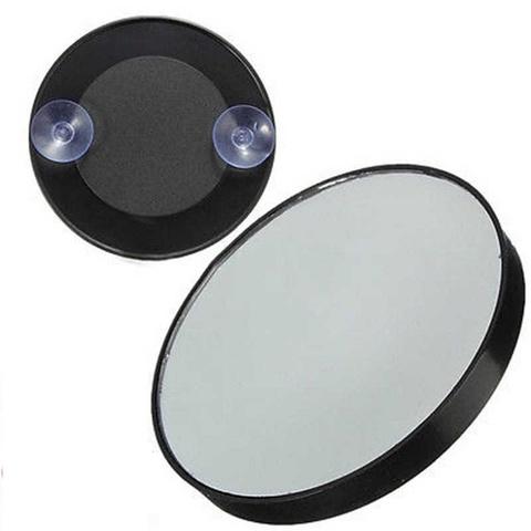 Зеркало пластиковое на присосках, с увеличением 3х