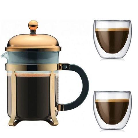 Подарочный кофейный набор Gold Dream