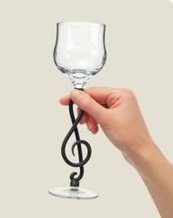 Бокал «Скрипичный ключ», фото 2