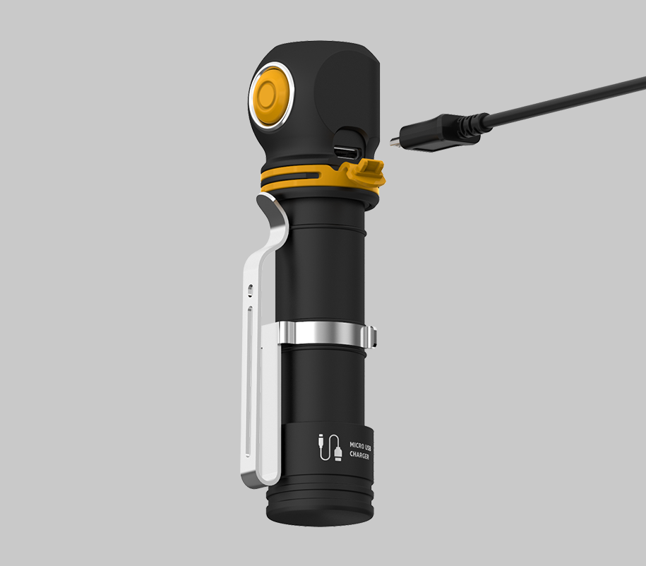 Мультифонарь Armytek Elf C2 Micro USB (теплый свет) - фото 5