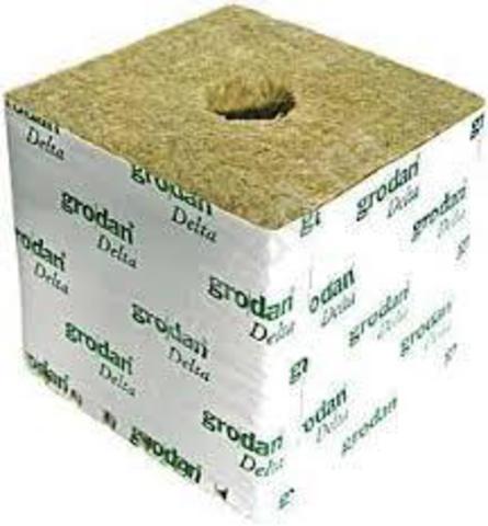 Кубик минеральной ваты 100х100х65 (IZOVOL AGRO)