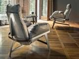 Кресло Jupiter с пуфом, Италия