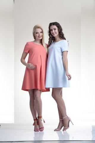 Платье для беременных 06149 розовый