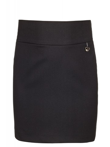 Текстильная юбка-карандаш для девочки